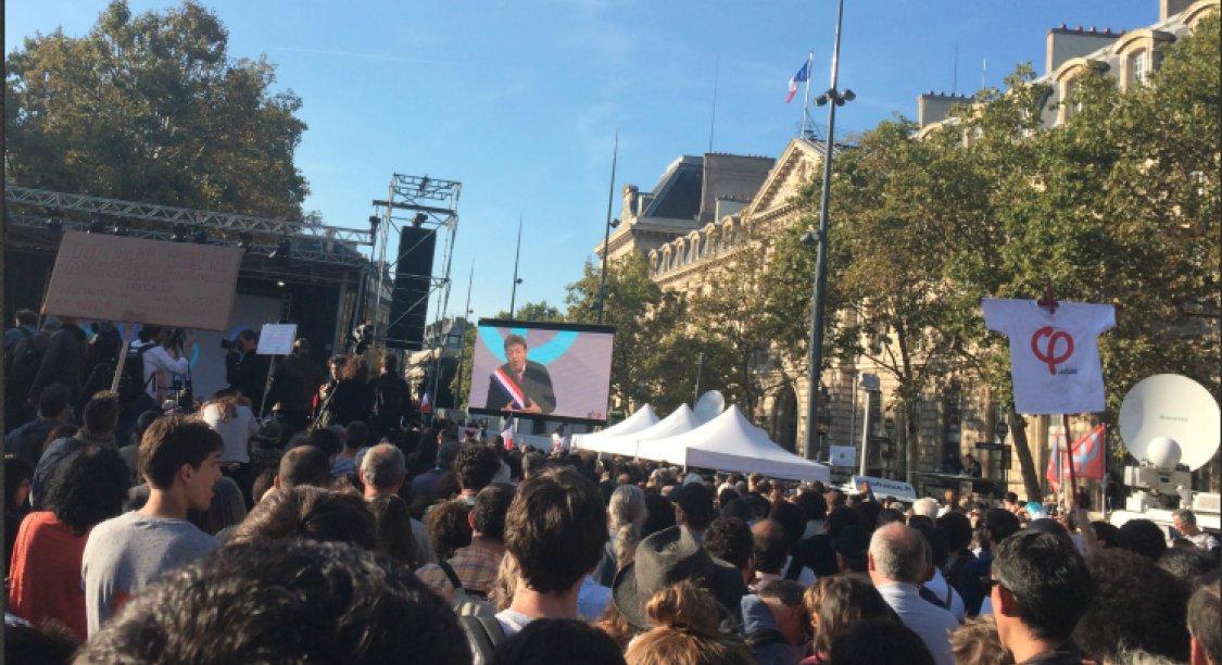 'La bataille n'est pas finie, elle commence': Mélenchon réussit sa mobilisation contre la réforme du code du travail https://t.co/boxTdlZ5NQ