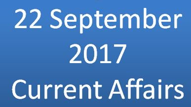 #CurrentAffairs for 22 September 2017 are out. Check this  http://www. currentaffairtoday.com/current-affair s-today-september-22-2017-national/ &nbsp; … <br>http://pic.twitter.com/EFP7JLKh2J