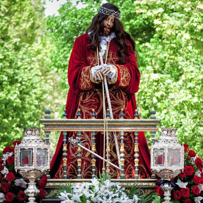 Resultado de imagen de cristo del balcon caravaca
