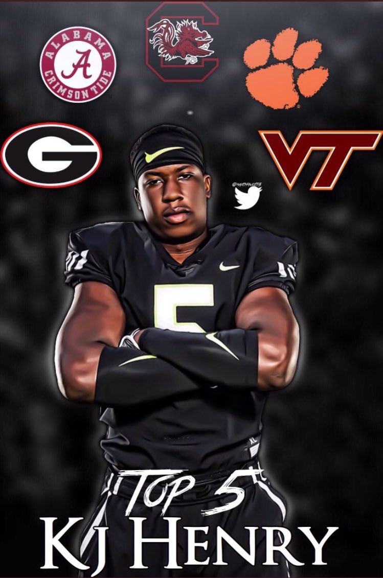 ESPN 300 OLB @thekjhenry_ in Athens today. Welcome to #UGA! #CommitToTheG <br>http://pic.twitter.com/Gi3IGFjHKD