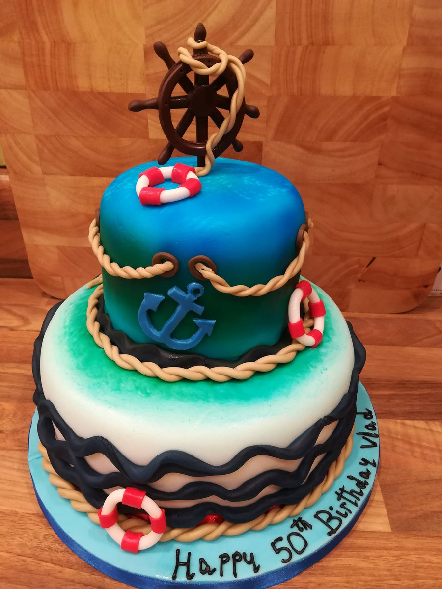Sarahbration Cakes On Twitter Nautical Birthday Cake