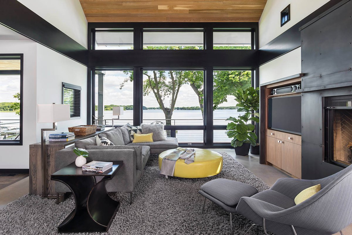 Lake Edge by Rehkamp Larson Architects |  http://www. homeadore.com/2015/12/28/lak e-edge-rehkamp-larson-architects/ &nbsp; …  Please RT #architecture #interiordesign <br>http://pic.twitter.com/Kvdf6ns7b6