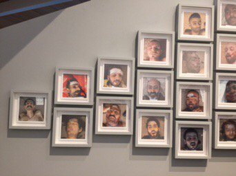 "On eve of German election, Nuremberg exhibit opens of ""Ceasar"" photos of Assad's victims—a horrid reminder of why Syrian refugees fled."