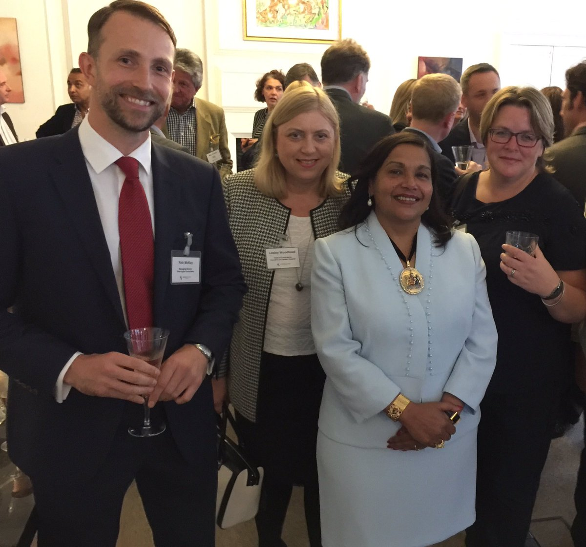 Lord Mayor of #Chester was delighted to attend Sherrington Associates Autumn Reception...@Thetalentscouts<br>http://pic.twitter.com/z1IyCaqq2r