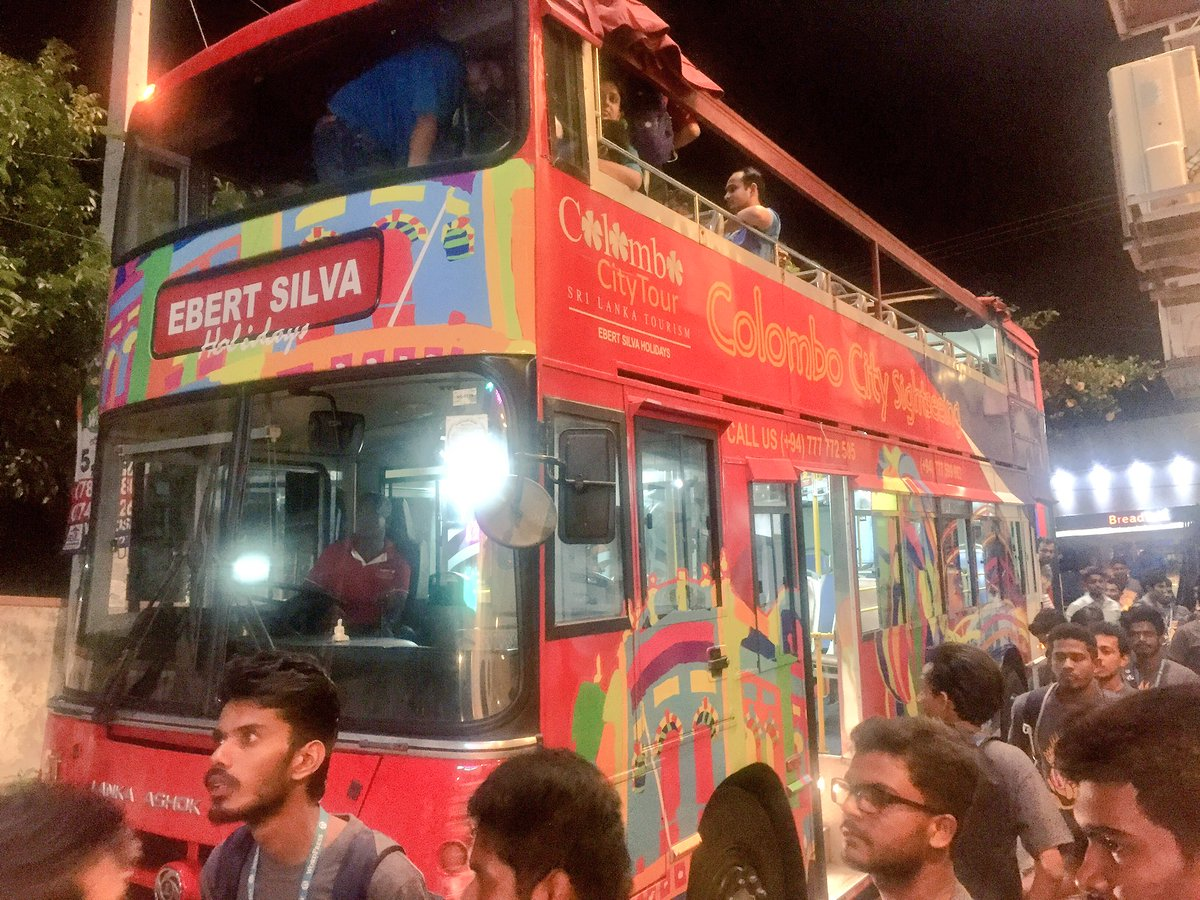 test Twitter Media - Really loved the @wccolombo Double Decker Bus ride to after party! #wccmb #wccmb2017 #WordCamp #AfterParty #SriLanka #DoubleDecker https://t.co/6zlczONlt5