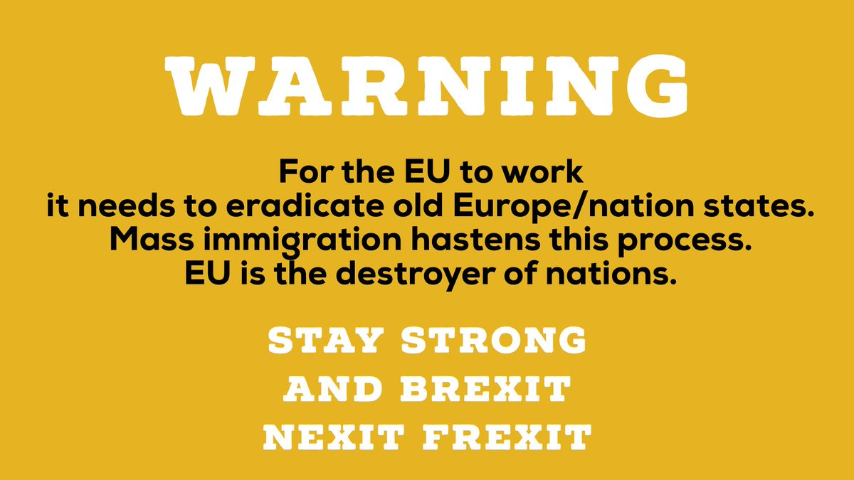#EU wants to destroy the nation state. They do this through mass migration. And setting region up against the nation. #catalunia #scotland<br>http://pic.twitter.com/hb4ZjOKjMN