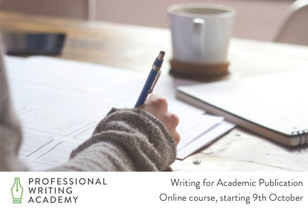Dr Dan Soule gives essential academic writing advice in our free webinar - don&#39;t miss out:  http:// bit.ly/AcademicNewsle tter &nbsp; …  #phd #academic #AcWri<br>http://pic.twitter.com/iqBuRIV39P