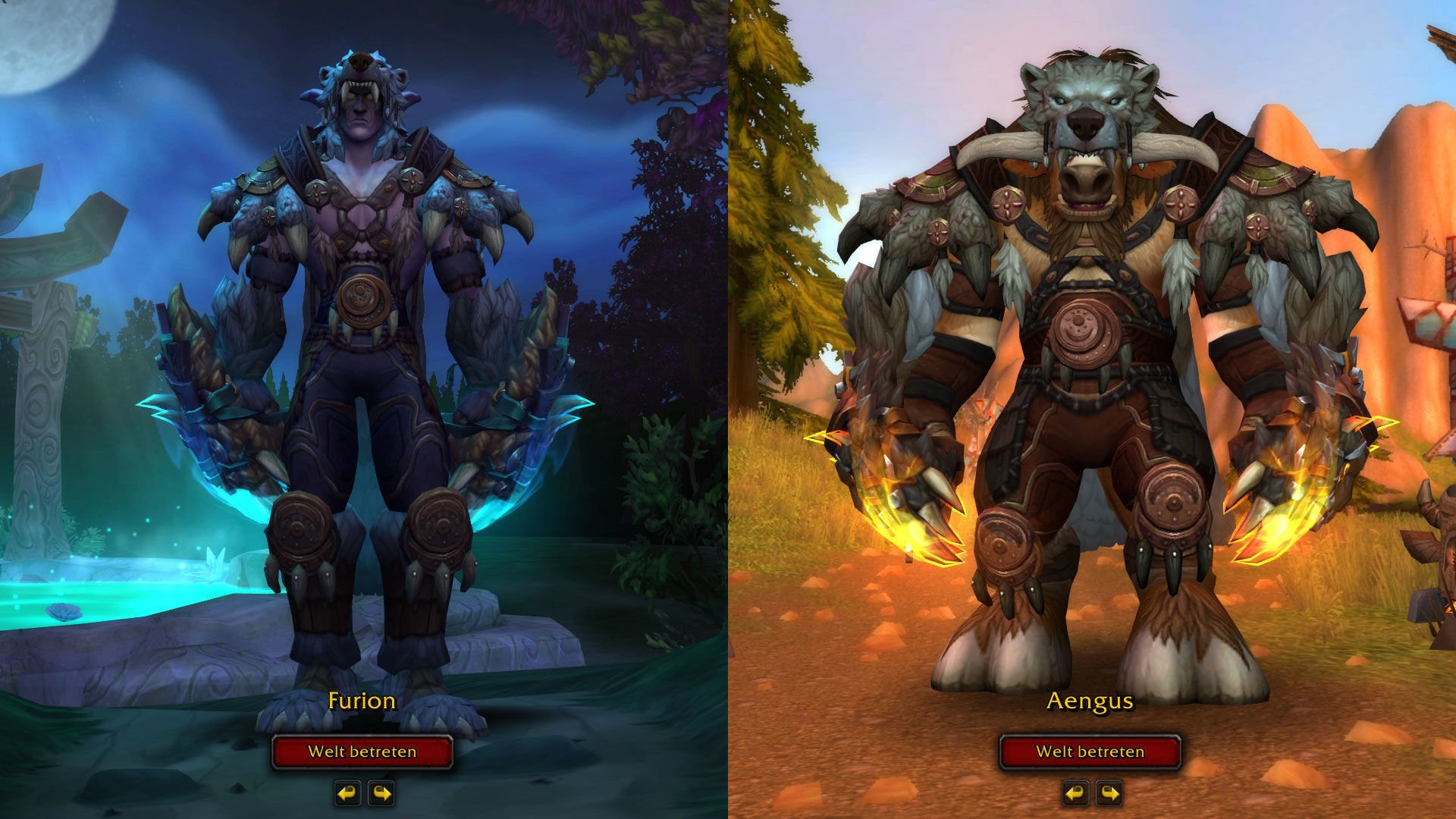 3d Welt Animation Warcraft World of