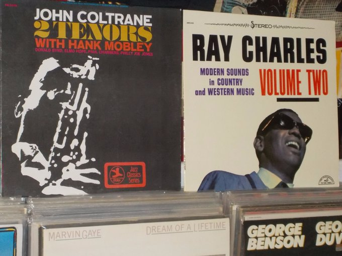 Happy Birthday to the late John Coltrane & the late Ray Charles