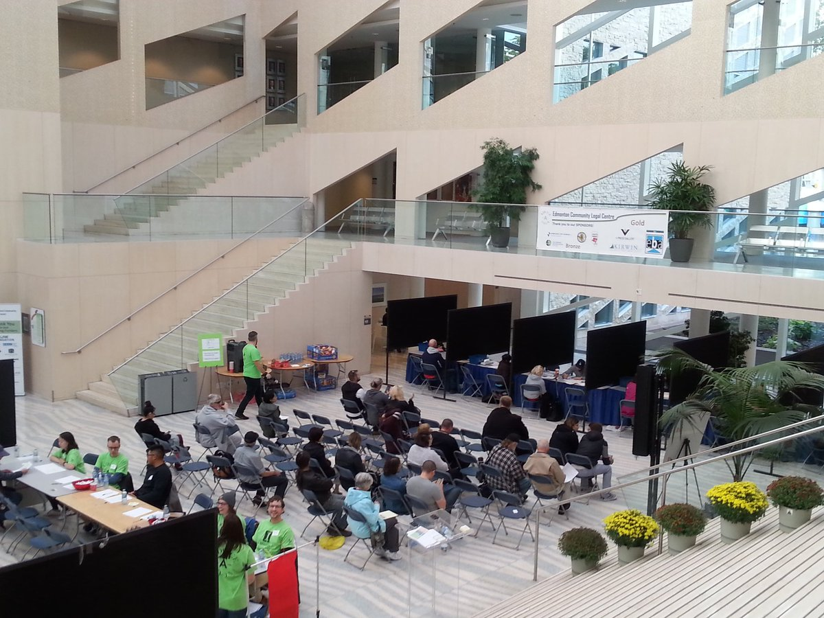 So far 65 clients are served for the Advice-a-thon! Come to City Hall for #legal help! #volunteering #law #justice #yegwomen #yegevents<br>http://pic.twitter.com/XwpS7KQefH