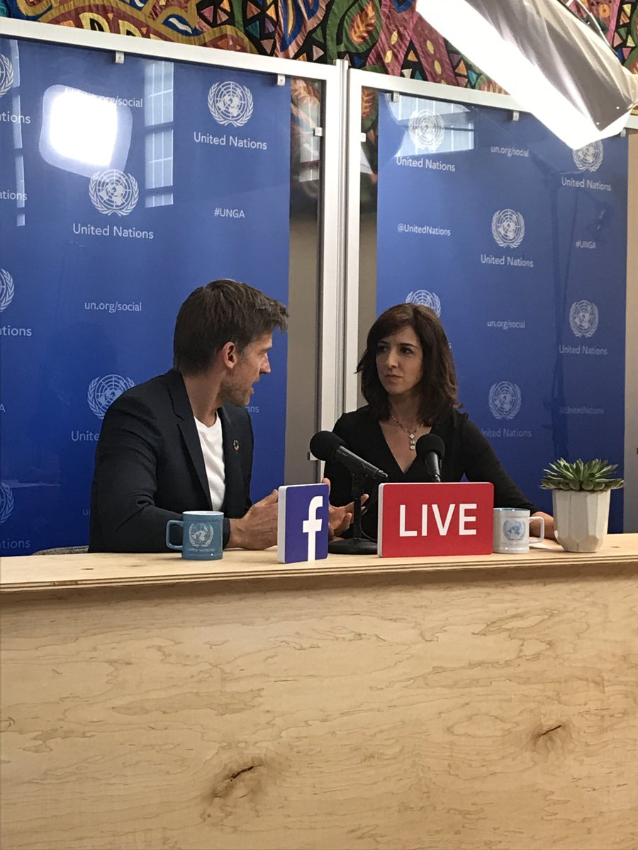 This week at #UNGA  : @UNDP Goodwill Ambassador &amp; #GameofThrones star @nikolajcw on his work to promote #GlobalGoals  https://www. facebook.com/unitednations/ videos/10155821712395820/ &nbsp; … <br>http://pic.twitter.com/ZYI3HWDd66