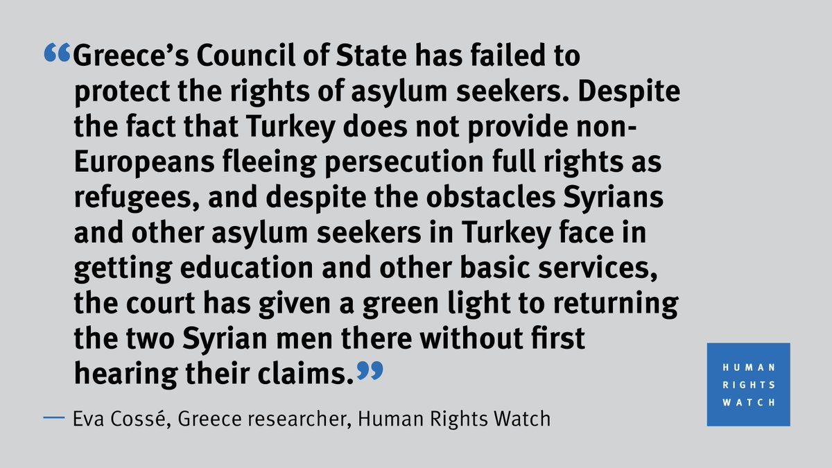 Succumbing to pressure to curb migration, Greece's highest court elevates the fiction of a 'safe' Turkey over the rights of asylum seekers.