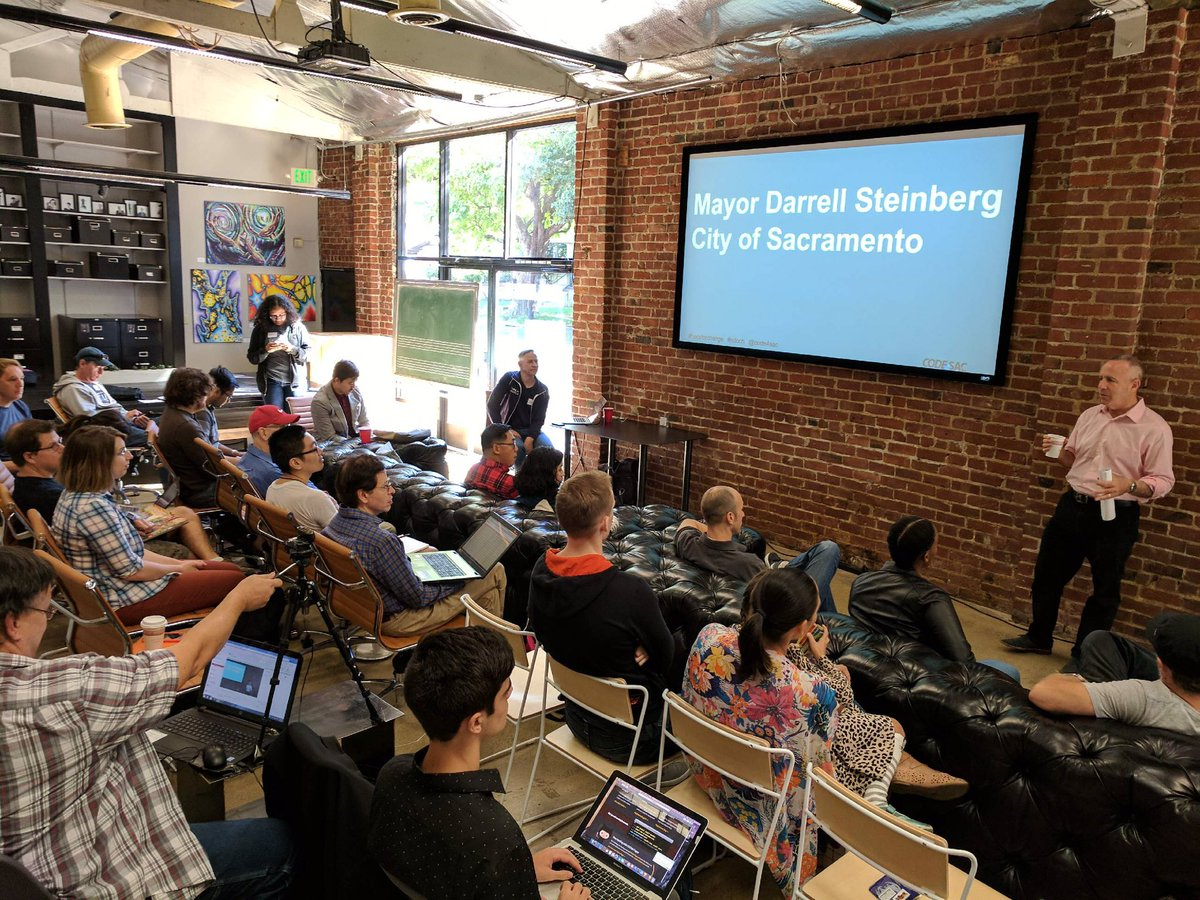 Great to see @code4sac volunteers using #opendata to help make government more accessible! #NDoCH #innovatesac<br>http://pic.twitter.com/gQ9xHPTC8I