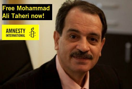 .@hassanrouhani Mohammad Ali Taheri is not a criminal and must be freed immediately, not sentenced to death #FreeTaheri <br>http://pic.twitter.com/u9L2t4aAgm