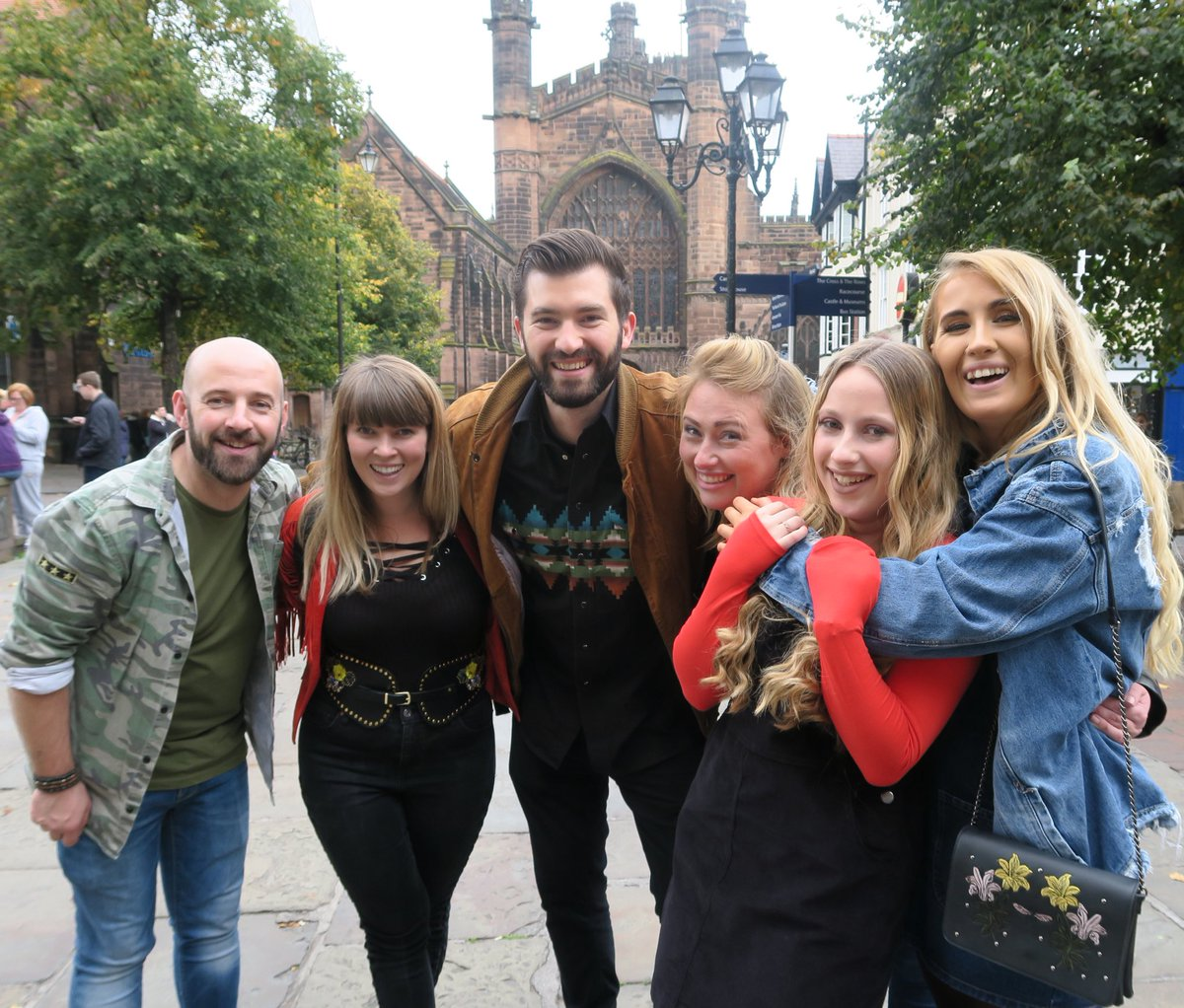 Great to play in #chester today for the opening of @inTUNEative and really nice to meet/hear @BlueGenesTrio along with the other great acts!<br>http://pic.twitter.com/ieWJ73fBaV