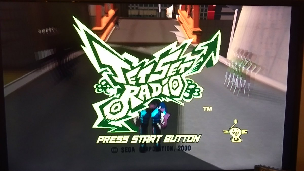 No idea what to play so might as well stick on this... #JetSetRadio #Sega #Dreamcast #JetSetSaturday<br>http://pic.twitter.com/iKWN1RJJne