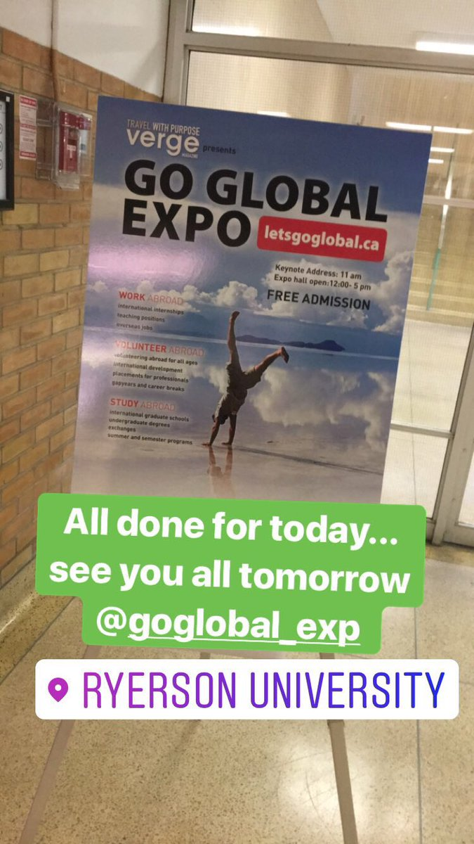 See you all tomorrow @GoGlobalExpo ... dont forget to call by to find out more about studying @UL #StudyatUL and more prizes to give away <br>http://pic.twitter.com/HyVHkTwRpV