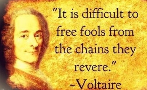 Free yourself from mental captivity. Let love, kindness, humanity and knowledge fill your entire being and break the chains. #Voltaire <br>http://pic.twitter.com/RXeI6RHnYJ