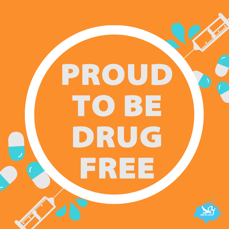 Drug abuse can negatively affect your mental health which is why you should be a #DrugFreeYouth
