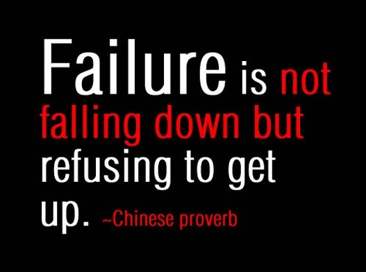 Failure is not falling down but refusing to get up. #failure #motivationalquotes <br>http://pic.twitter.com/kbEL1Nmqgd