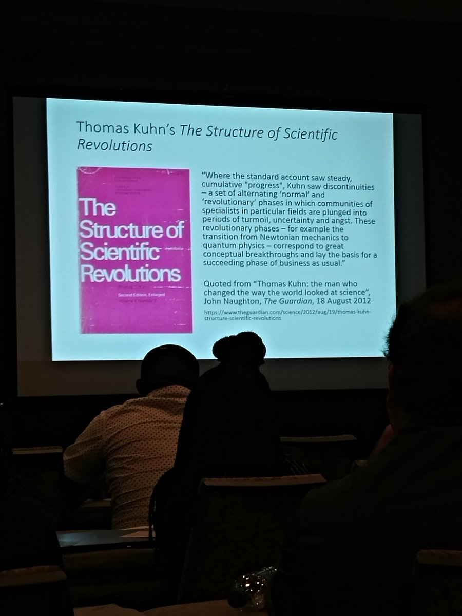 thomas kuhn scientific revolutions Natural phenomena, science, and philosophy of science now that we have looked at what is often referred to as the first major scientific revolution in modern history -- the cosmological revolution from copernicus to newton -- we will go on to look at philosophies of science that attempt to explain the historical dynamics of scientific revolutions.