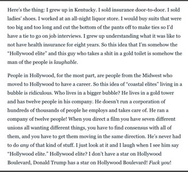 George Clooney preach! via @thedailybeast https://t.co/ZNqP2GoQoB