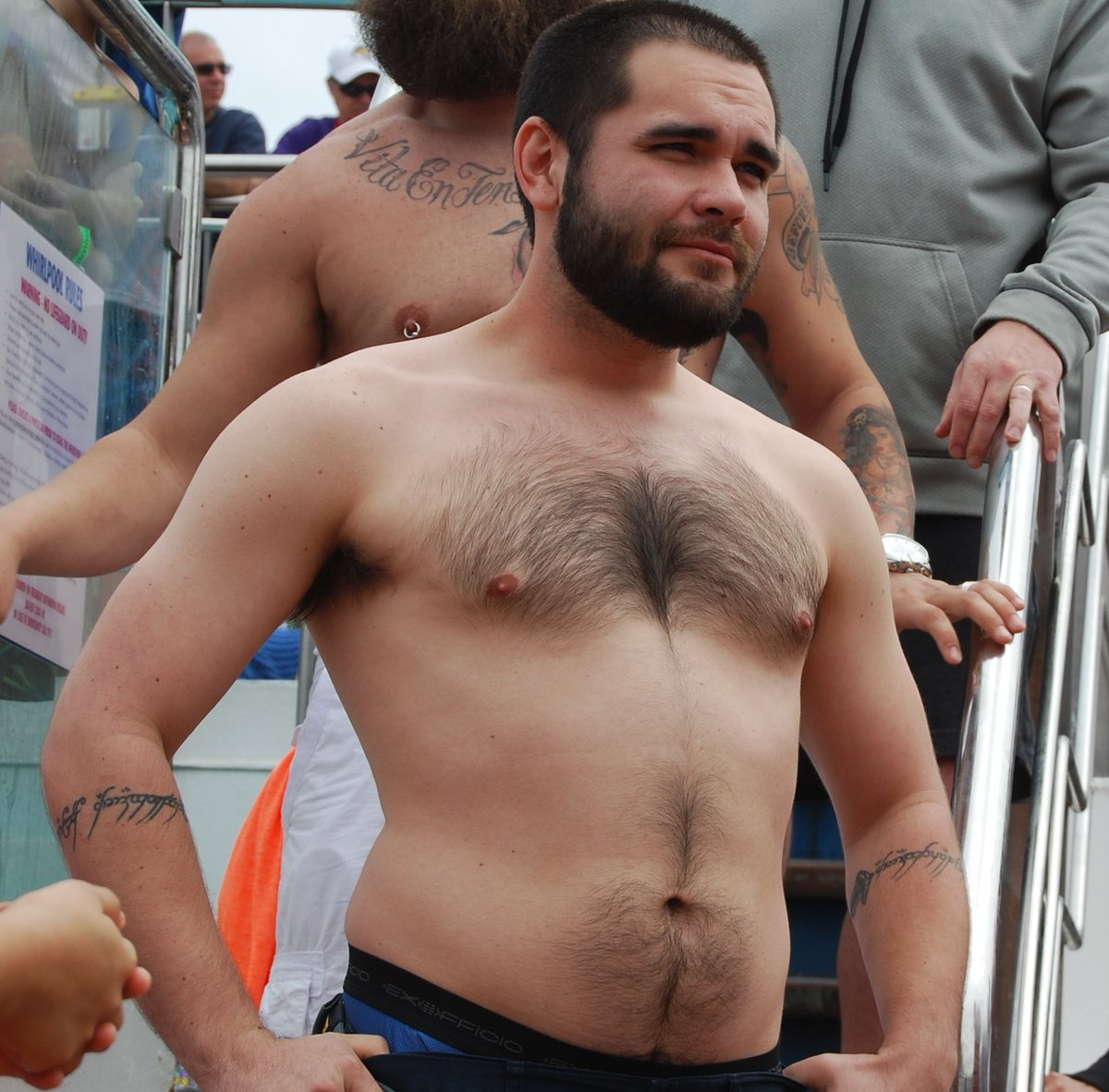 hairy dudes get MONTHLY SALARY see  http:// ModelingPortfolio.org  &nbsp;   #bearcub #hairy #chest #beard #whiskers #carnival #cruise #ship #event #contest<br>http://pic.twitter.com/Gl2nI1mhdk