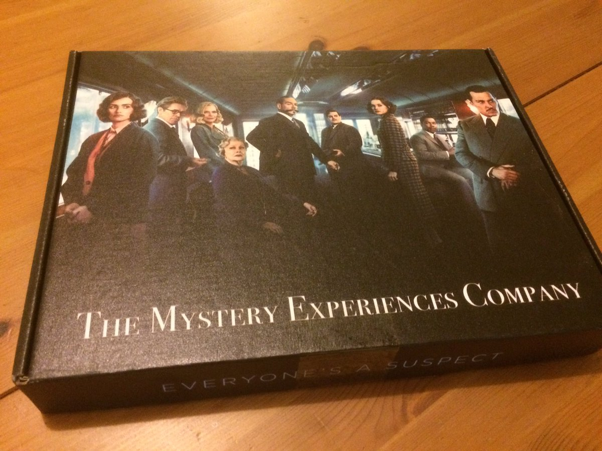 The biggest mystery of all: how they got all this into one box... #MurderOnTheOrientExpress #Mystery #Poirot #Whodunnit #AgathaChristie #WOW <br>http://pic.twitter.com/BtoozIpgSd
