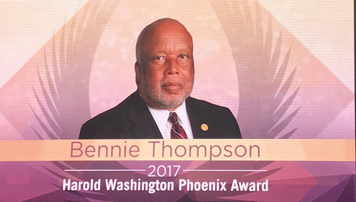 Congrats to My Fraternity Brother United States Congressman @BennieGThompson for receiving @CBCFInc Phoenix Award cc: @kapsi1911 #Achieve <br>http://pic.twitter.com/mkvEPpMMfi &ndash; at Walter E. Washington Convention Center