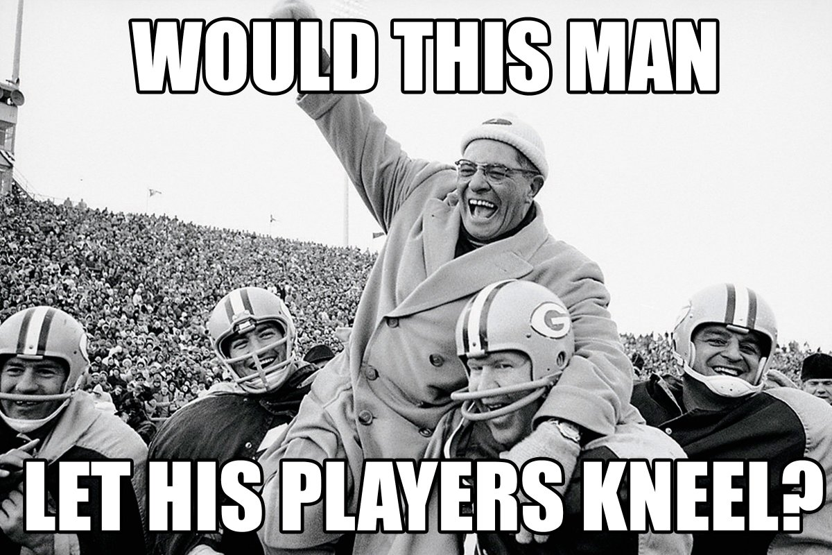 What Would Vince DO? #WWVD #GreenBay #Packers #NFLBoycott #NFL<br>http://pic.twitter.com/C56OqTWrqD