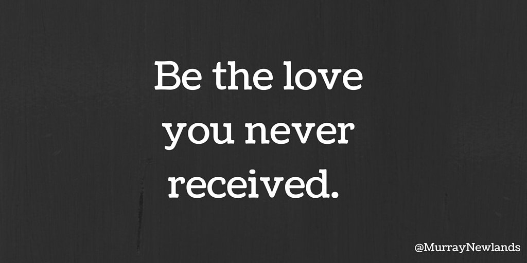 Be the love you never received.   #Kindness #Motivation #LoveYourself <br>http://pic.twitter.com/bYFD0yPQUS