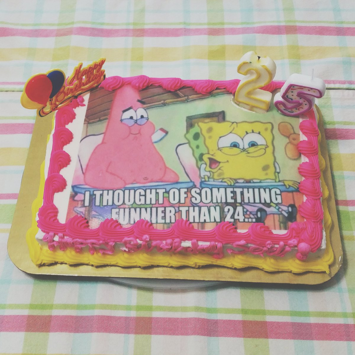 Seidi On Twitter Happy Birthday To Me I Waited 25 Years For This Memelife Spongebob