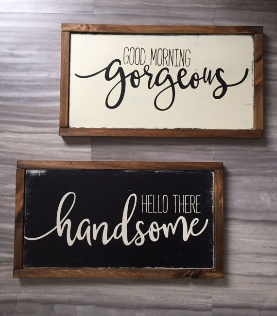 Good Morning Gorgeous Hello There Handsome set by TheRusticNorthCo... -  http:// tanaflora.com/good-morning-g orgeous-hello-there-handsome-set-by-therusticnorthco?utm_source=TW&amp;utm_medium=https%3A%2F%2Ftwitter.com%2Finfogameonline1&amp;utm_campaign=SNAP%2Bfrom%2BTanaflora.com &nbsp; …  #Wallpaper <br>http://pic.twitter.com/DsbWdUNLDs