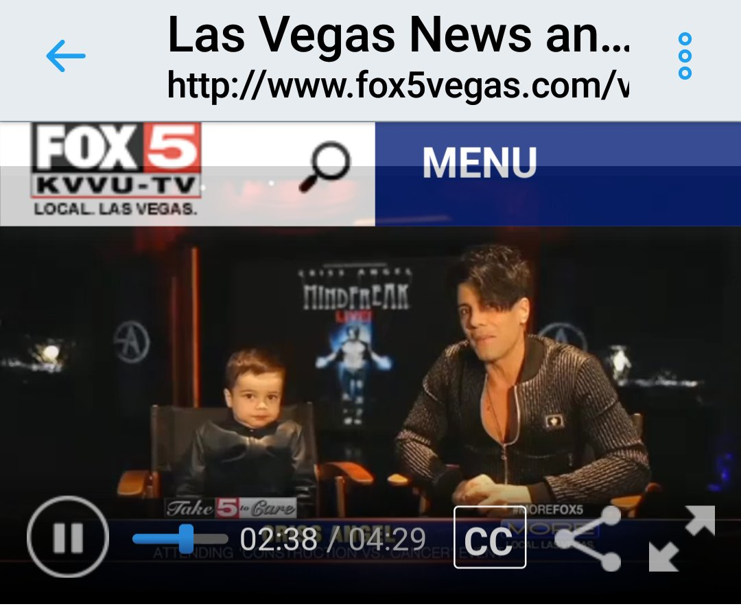 Here for all the @CrissAngel #Loyal who wanted to see the segment on #MoreFox5 about The Compassion award #HELP  http://www. fox5vegas.com/video?autoStar t=true&amp;topVideoCatNo=default&amp;clipId=13746368 &nbsp; … <br>http://pic.twitter.com/tYlpId6pG6