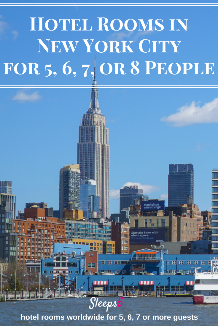 New York City large suites and hotel rooms to accommodate a family of 5, 6, or 7!  https:// buff.ly/2jTfDMQ  &nbsp;   #NYC #familytravel #NewYorkCity<br>http://pic.twitter.com/LAu2hmV4Zr