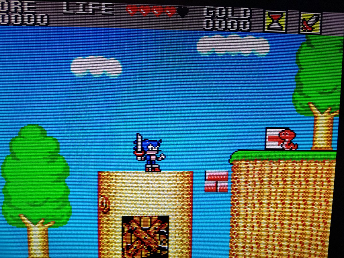 Wait a second...that&#39;s not quite right...  #romhack #sega #retrogaming<br>http://pic.twitter.com/YEG9D8EmIt
