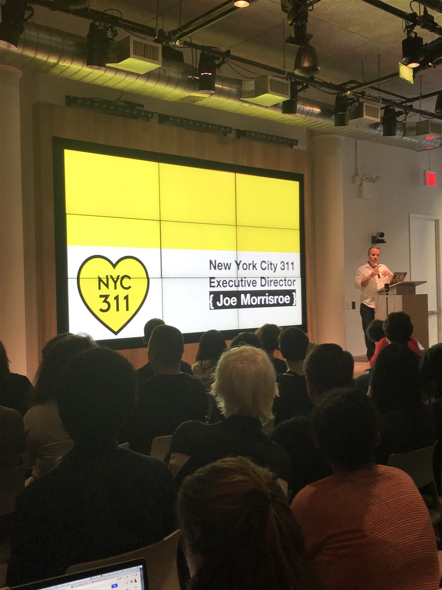 .@NYC311 system data is the people's dataset! Thank you documenting our requests &amp; complaints and participating in #NDoCH #opendata <br>http://pic.twitter.com/Cc6JGhkIlv
