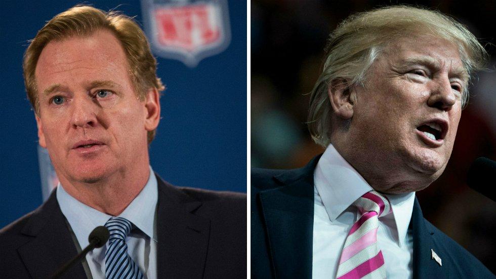 NFL commissioner: Trump's 'divisive comments' show a 'lack of respect' for NFL https://t.co/oZ0lzCfA0u