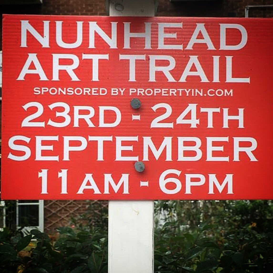 Another day of #nunheadarttrail with #art #craft #music #performance <br>http://pic.twitter.com/2jFTRFrLeo
