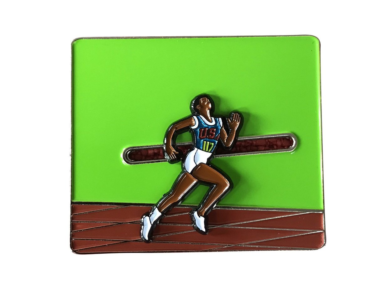 Wilma Rudolph Sliding Lapel Pin  Available here:  http:// bit.ly/2uEmCu7  &nbsp;   #accessories #pingame #radicaldreams #lapelpins via @outfy<br>http://pic.twitter.com/HLvEuE4kln
