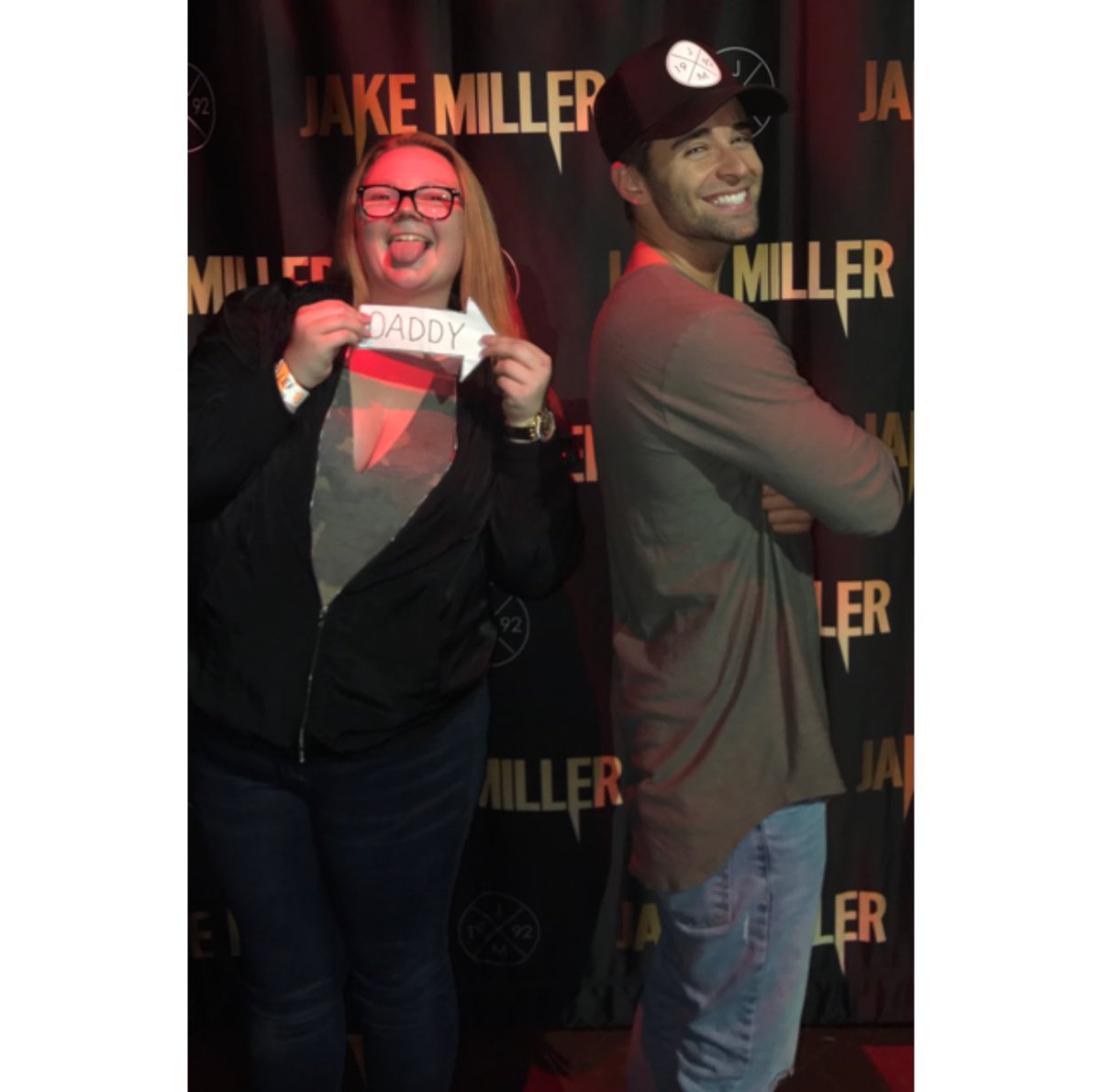 Y&#39;all said I wouldn&#39;t @jakemiller #Daddy  <br>http://pic.twitter.com/8mwxnJ0e1A