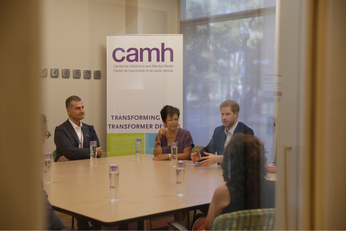 Visit from Prince Harry a testament to decades of passion &amp; commitment from @camhnews staff #MentalHealth #IAmInvictus @InvictusToronto<br>http://pic.twitter.com/pyuinQ2a80