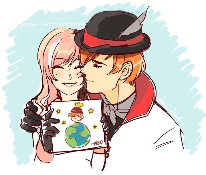"""NaomiG On Twitter: """"Wanted To Draw Something Cute!😊 #RWBY"""