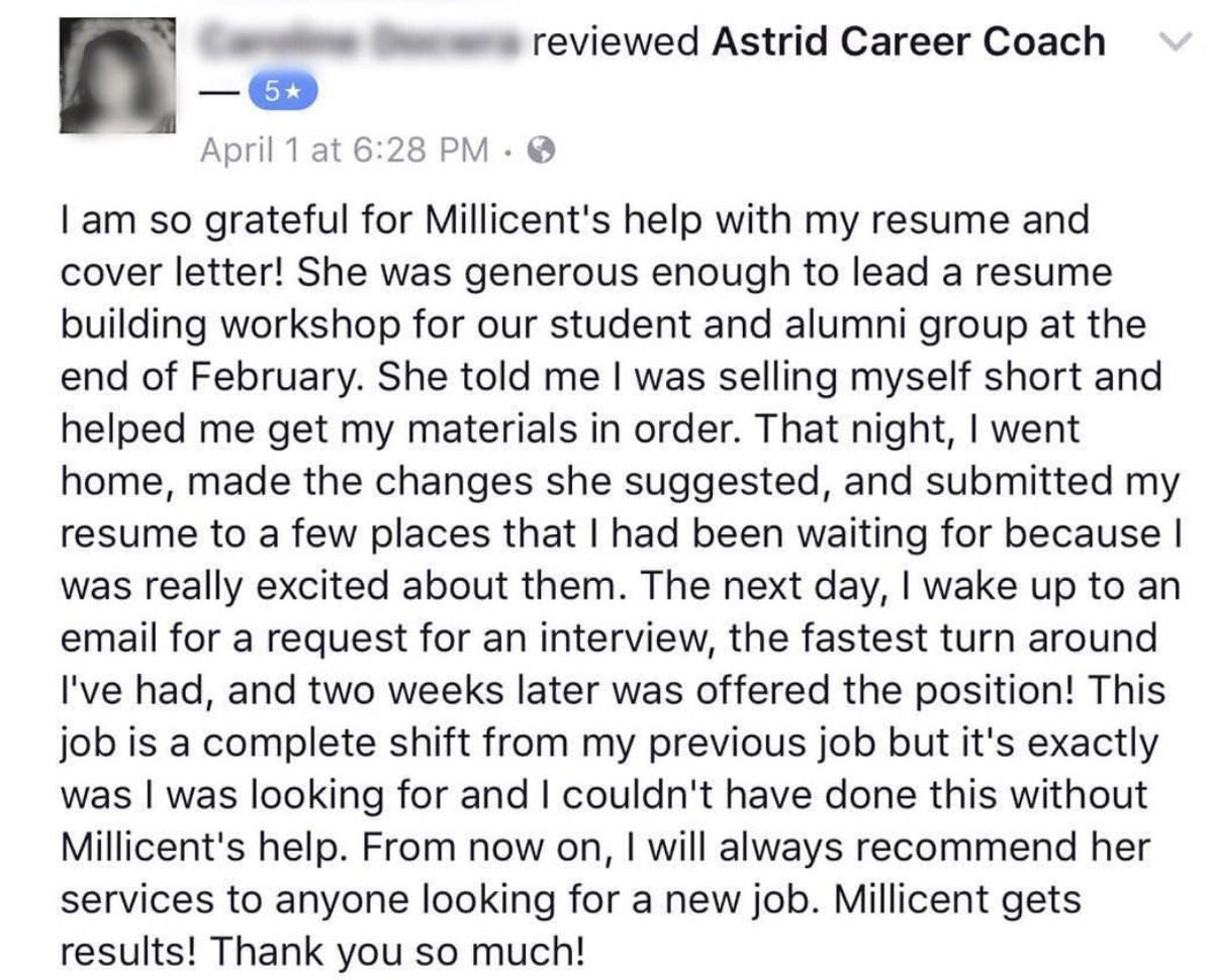 Astrid Career Coach Astridcareer Twitter
