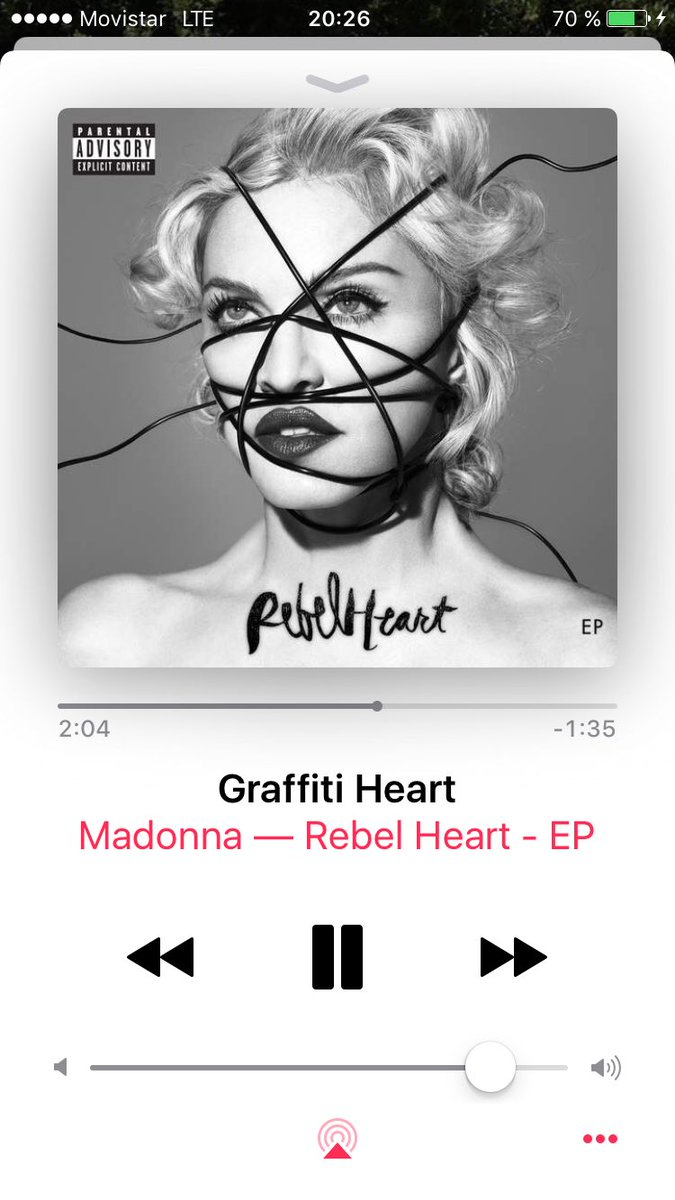 Great song @Madonna #GraffitiHeart #RebelHeart ! <br>http://pic.twitter.com/RpMLGfgZb5