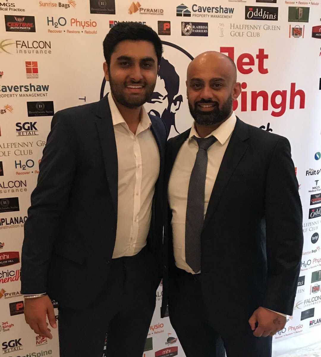 Fantastic charity night with Davinder Chatta - The Jet Singh Trust