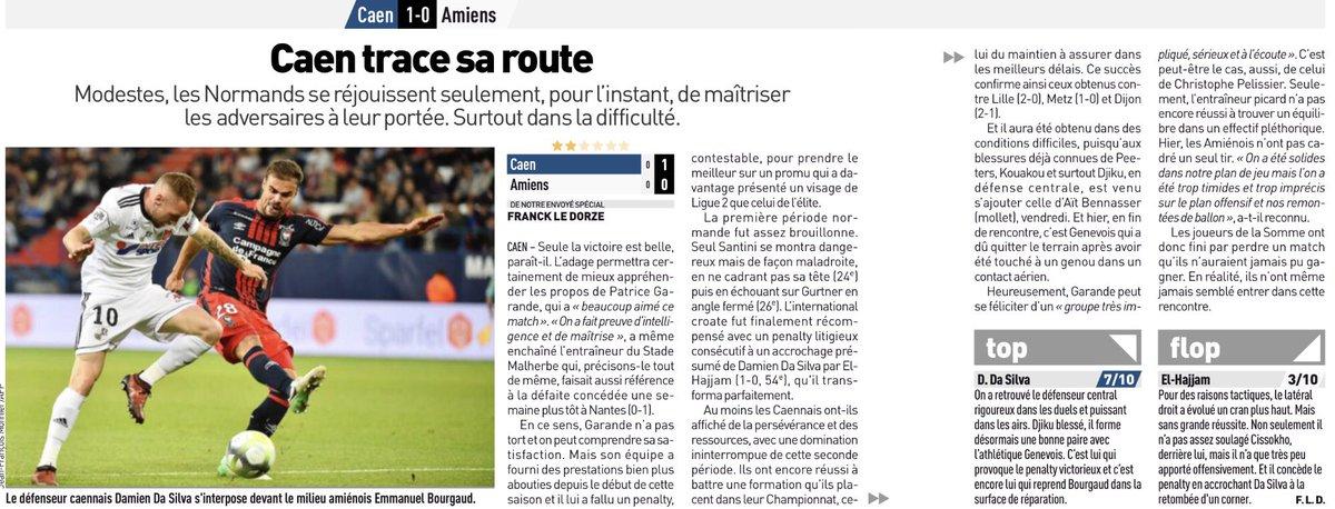 [7e journée de L1] SM Caen 1-0 Amiens SC - Page 2 DKck7RsX0AAzDpr