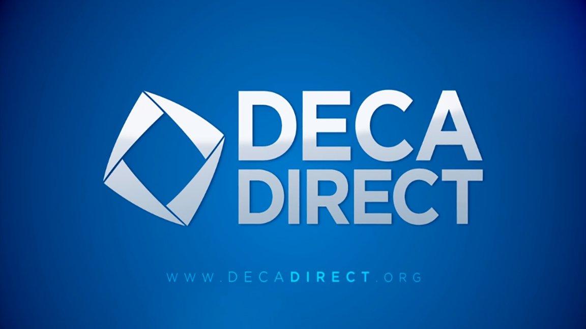 Image result for DECA DIRECT LOGO