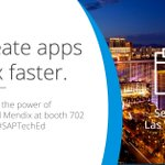 #Mobile #LowCode #IoT #AI #appdev– hear from the experts on how #tech is driving change at #SAPTechEd https://t.co/GdL62RSX6Y