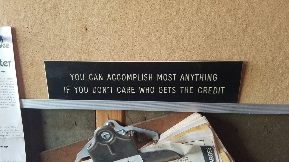 Found this in my friends grandfather&#39;s workshop. It seems like very sage advice. #foundwisdom #advice <br>http://pic.twitter.com/ioXzkYT0dq